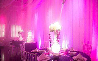 Pin Spot light for Weddings