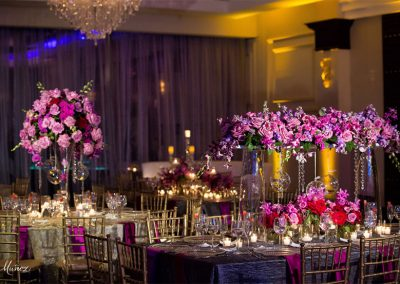 Centerpieces Flower Pin Spot Lighting