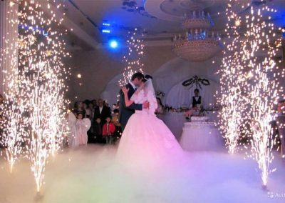 First Dance Low Fog Cloud Effect Machine