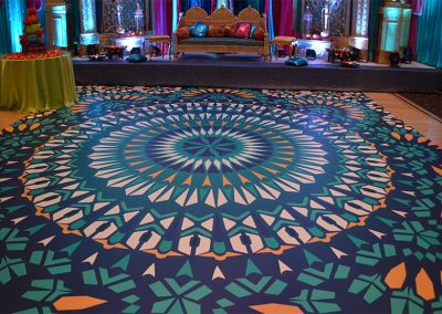 Rangoli Custom Wrap Dance Floor