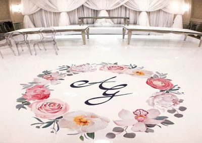 Vinyl Dance Floor Wrap