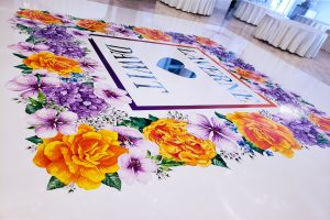 How Much Does A Custom Dance Floor Wrap Cost? NYC NJ DC MD VA